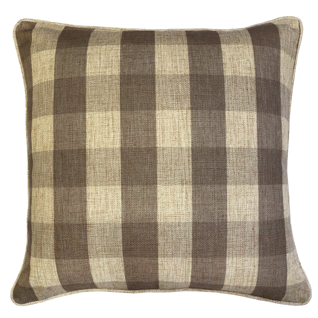 Suzanne Pillows | Size 20X20 | Color Taupe