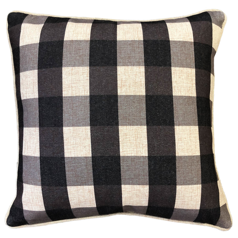 Suzanne Pillows | Size 20X20 | Color Charcoal
