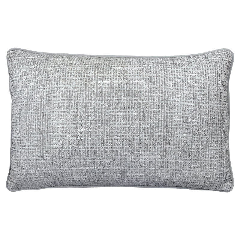 Tamar Pillow | Size 16X26 | Color Silver
