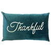 Thankful Pillow | Size 16X26 | Color Peacock