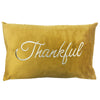 Thankful Pillow | Size 16X26 | Color Mustard