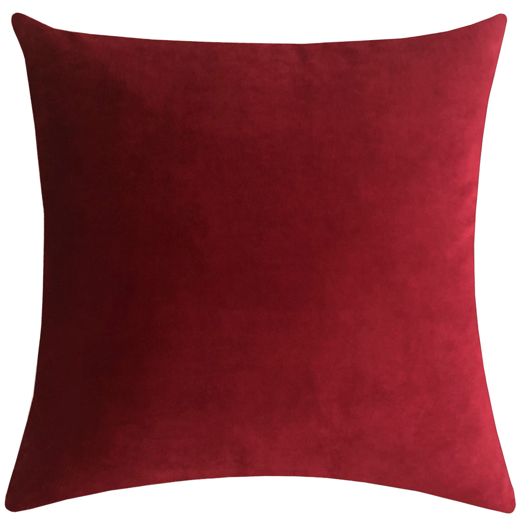 Tuscan Pillows | Size 23X23 | Color Wine
