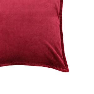 Val Pillows | Size 20X20 | Color Red