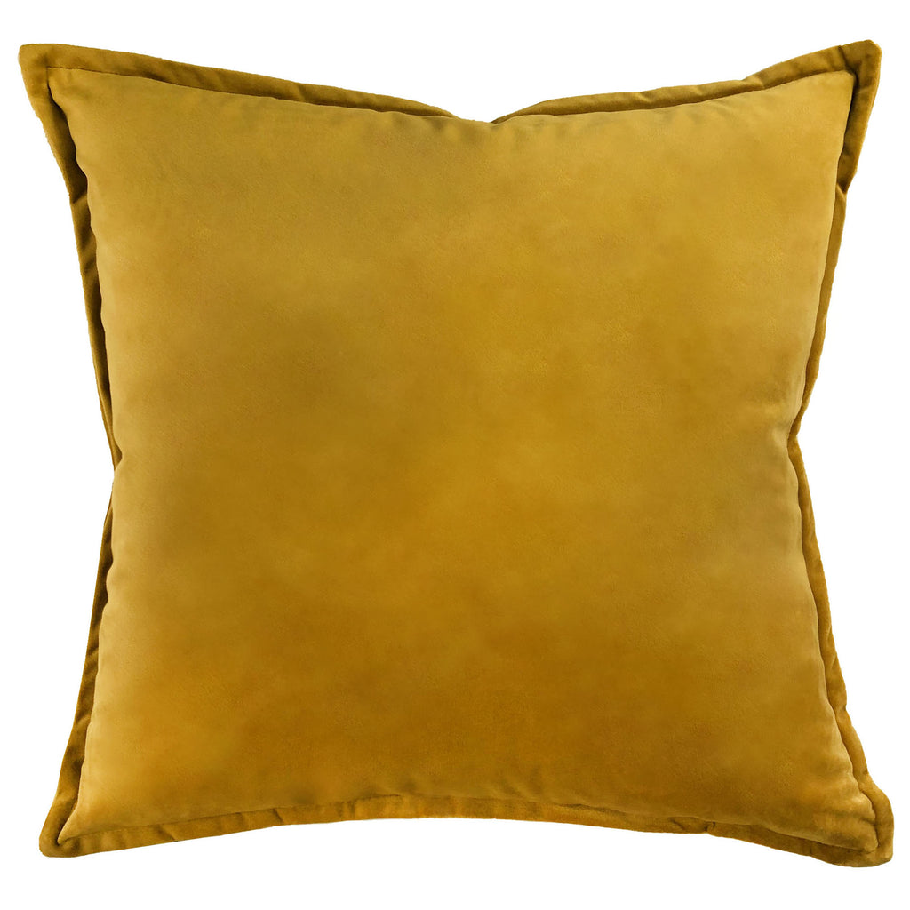 Val Pillows | Size 20X20 | Color Gold