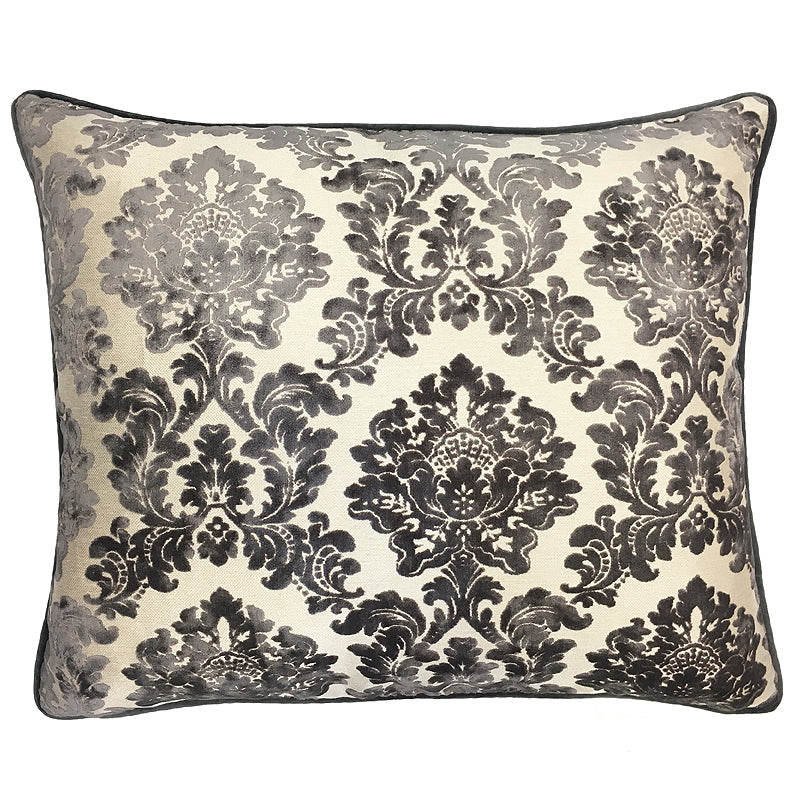 Valentino Pillow | Size 20X24 | Color Gray