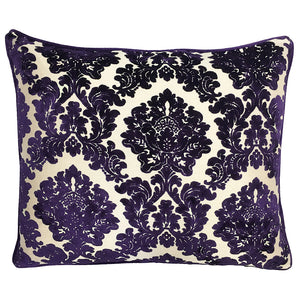 Valentino Pillow | Size 20X24 | Color Plum