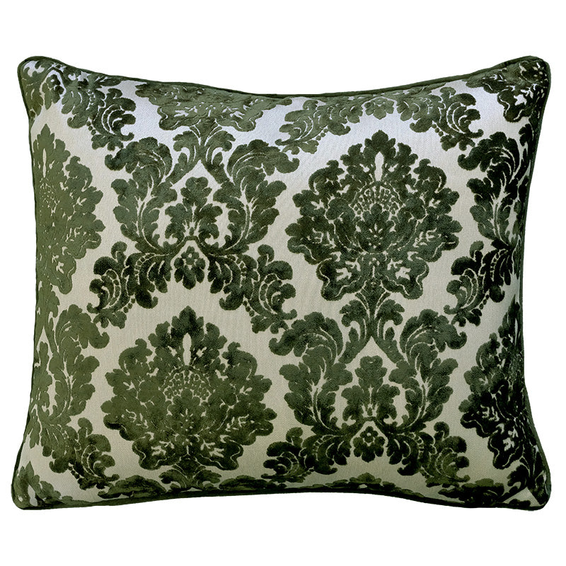 Valentino Pillow | Size 18X21 | Color Olive