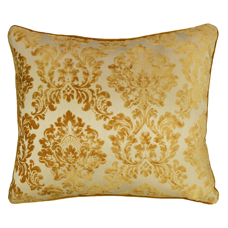 Valentino Pillow | Size 18X21 | Color Gold