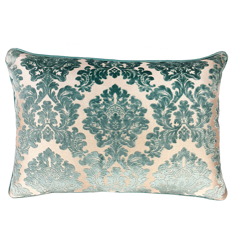 Valentino Pillow | Size 18x26 | Color Turquoise
