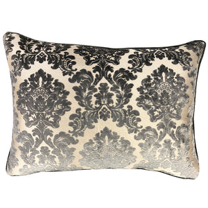 Valentino Pillow | Size 18X26 | Color Gray
