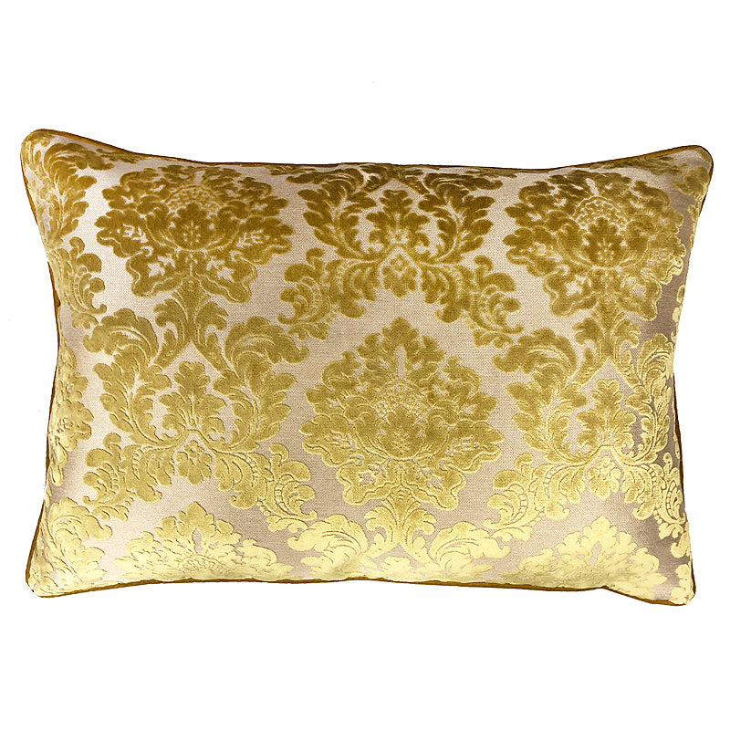 Valentino Pillow | Size 18x26 | Color Mimosa