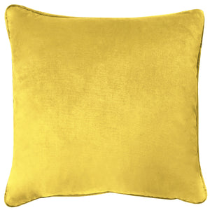 Velluto Pillows | Size 20X20 | Color Sunshine