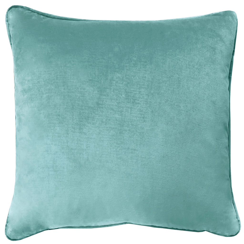 Velluto Pillows | Size 20X20 | Color Sky