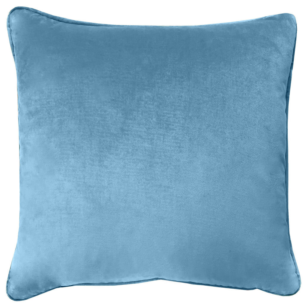 Velluto Pillows | Size 20X20 | Color Ocean