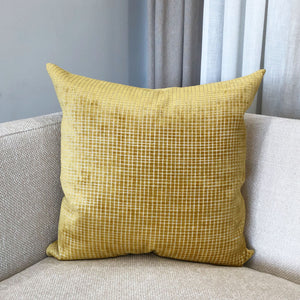 Vika Pillows | Size 23X23 | Color Gold
