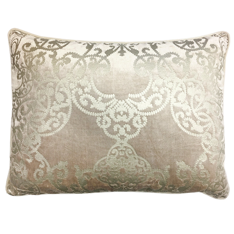 Vince Pillow | Size 18X24 | Color Pewter