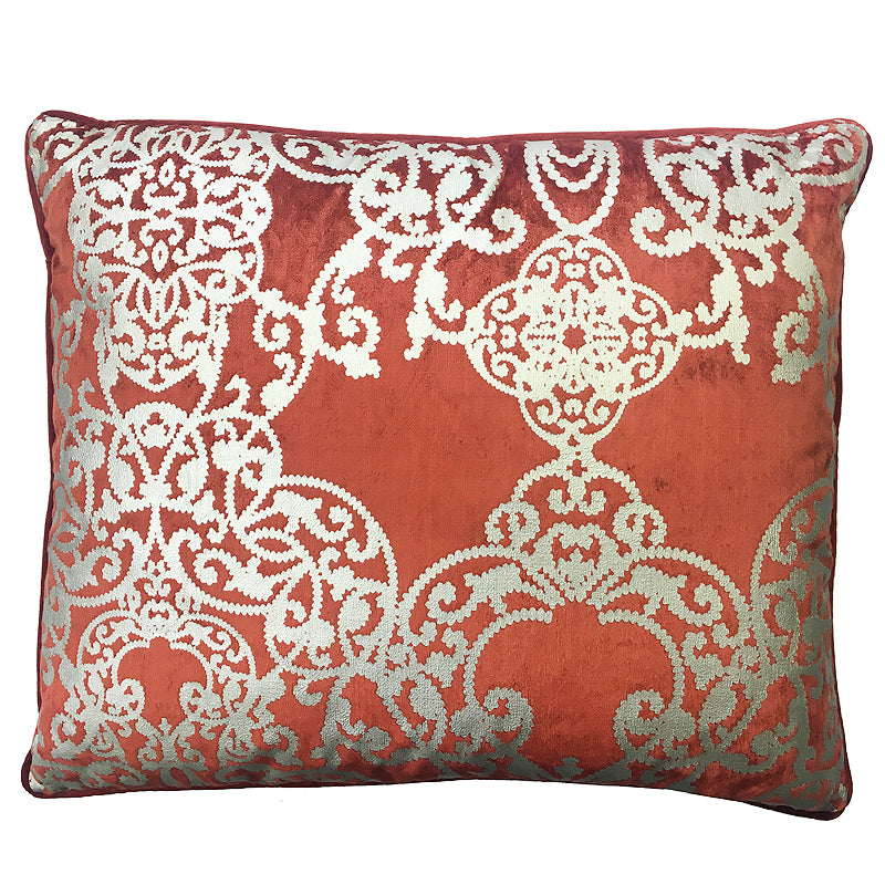 Vince Pillow | Size 20X24 | Color Rust