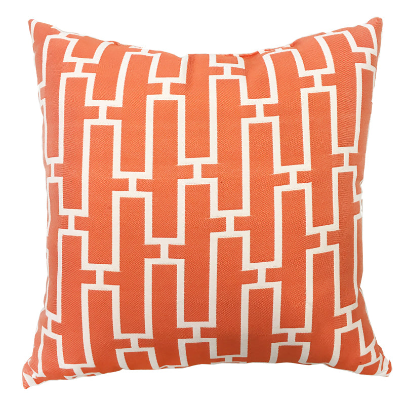 Westfield Pillow | Size 20X20 | Color Orange