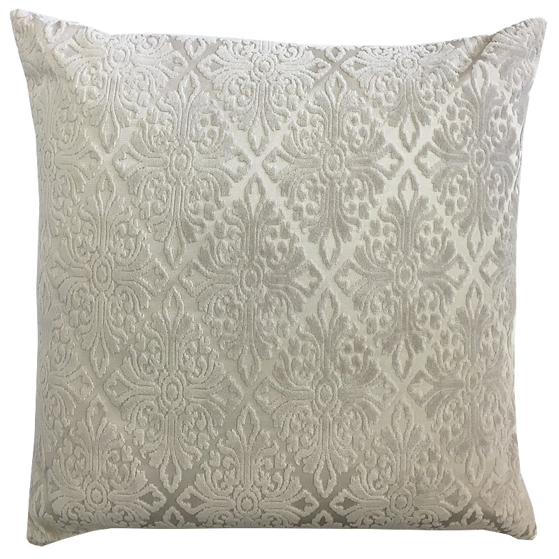 Willa Pillow | Size 20X20 | Color Stone