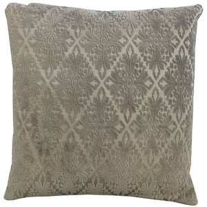 Willa Pillow | Size 20X20 | Color Taupe