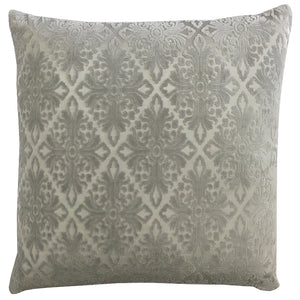 Willa Pillow | Size 20X20 | Color Silver