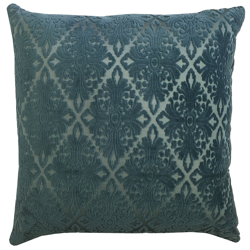 Willa Pillow | Size 20X20 | Color Ocean