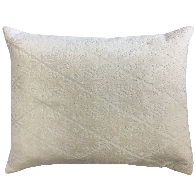 Willa Pillow | Size 20X24 | Color Cream