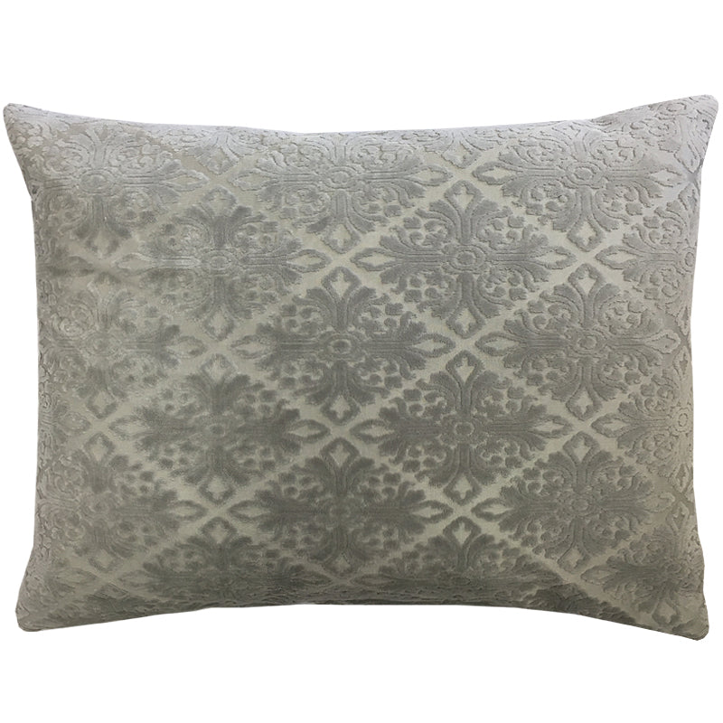 Willa Pillow | Size 20X24 | Color Silver