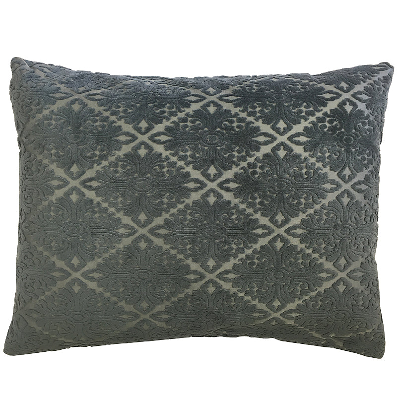 Willa Pillow | Size 20X24 | Color Slate