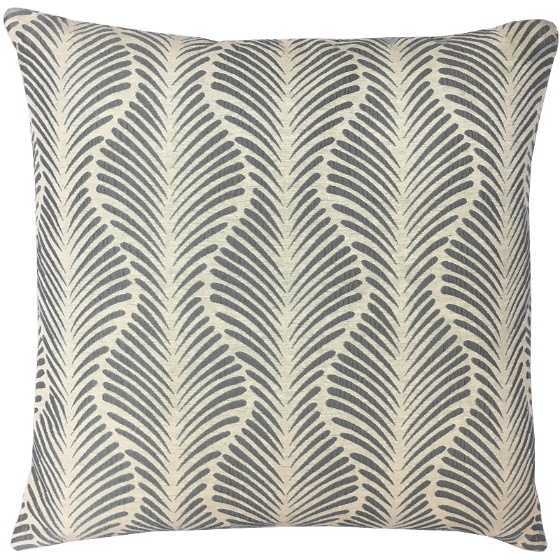 Yanna Pillow | Size 20X20 | Color Gray