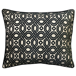 Zachary Pillow | Size 18X22 | Color Black