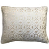 Zachary Pillow | Size 18X22 | Color Ivory