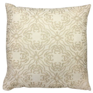 Zach Pillow | Size 20X20 | Color Beige
