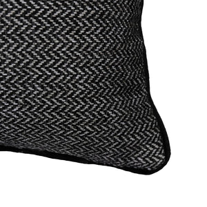 Zena Pillows | Size 18X21 | Color Ebony