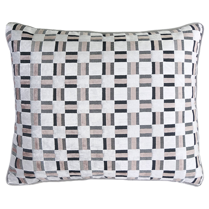 Zeppelin Pillow | Size 18X22 | Color Silver