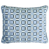 Zeppelin Pillow | Size 18X22 | Color Blue