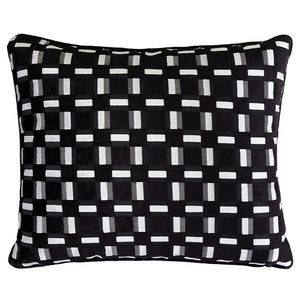 Zeppelin Pillow | Size 18X22 | Color Black