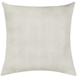 Calista Pillows | Size 23X23 | Color Ivory