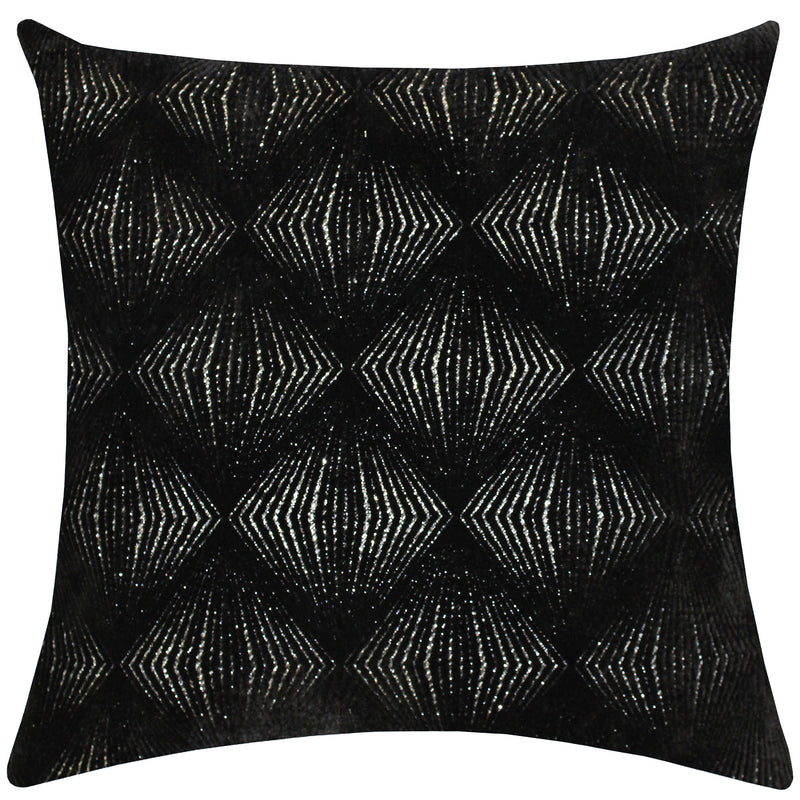 Calista Pillows | Size 23X23 | Color Black