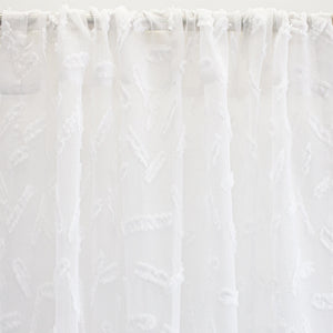 Quinn Fabric | Color White