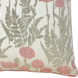 Camelia Pillows | Size 23X23 | Color Blush