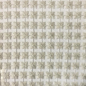 Clover Fabric | Floral Sheer