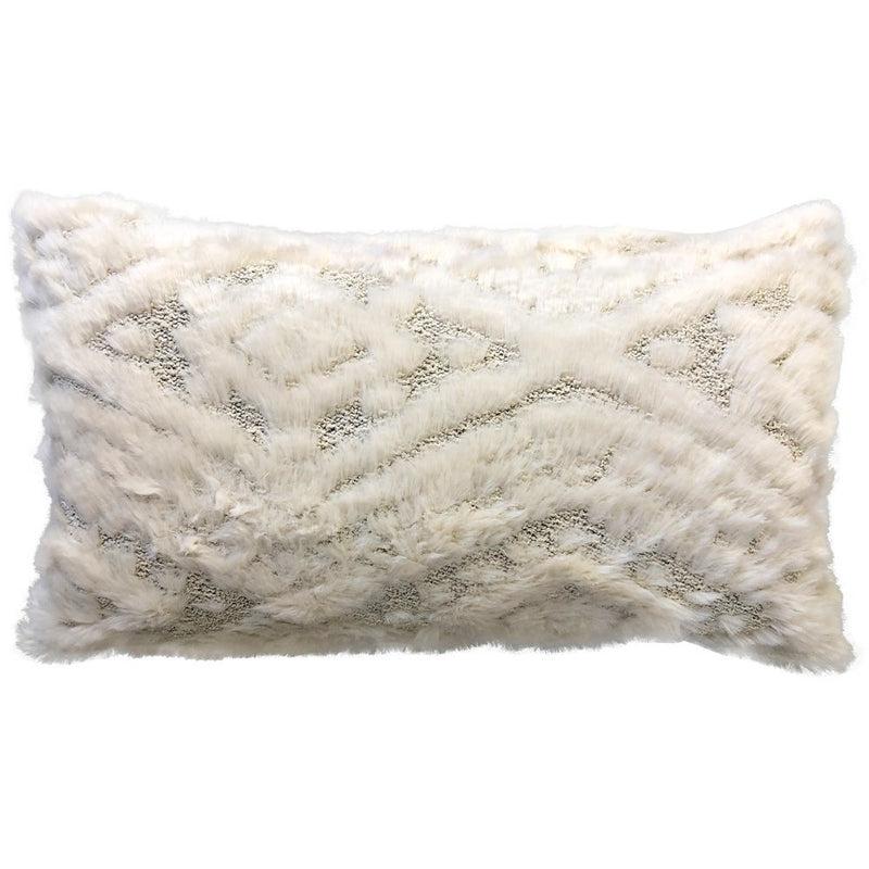 Fendi Pillows | Size 16X26 | Color Ivory