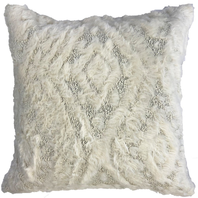 Fendi Pillows | Size 23x23 | Color Ivory