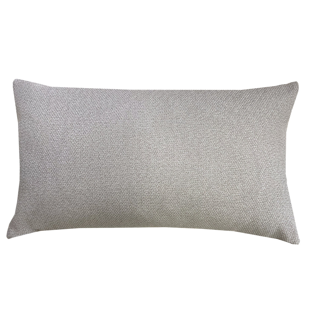 Grayson Pillows | Size 16x26 | Color Silver