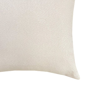 Grayson Pillows | Size 18x22 | Color Cream
