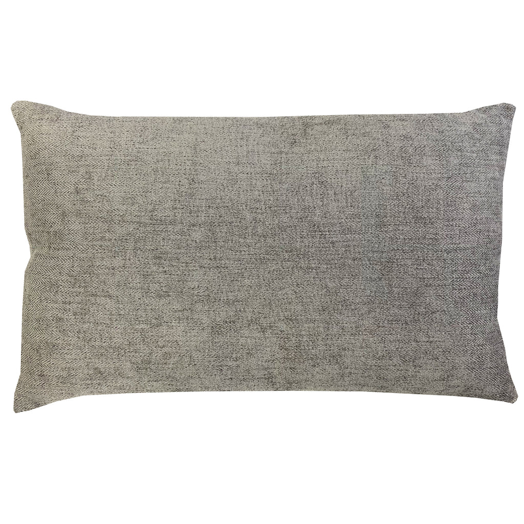 Lorenzo Pillow | Size 16X26 | Color Silver