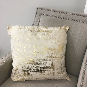 Blaze Pillows | Size 20X20 | Color Natural/Gold