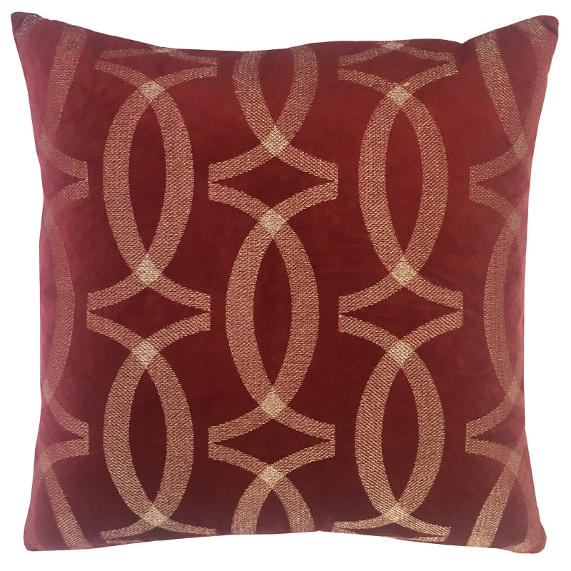 Kendrick Pillow | Size 20X20 | Color Red