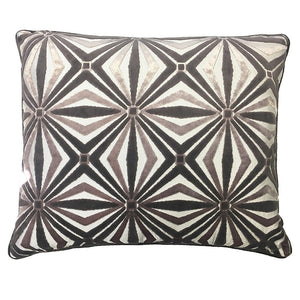 Zircon Pillow | Size 20X24 | Color Pewter
